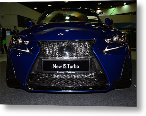 Lexus Is Turbo Metal Print