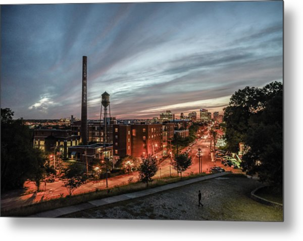 Libby Hill Post Sunset Metal Print