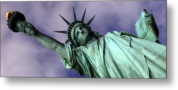 Liberty 2 Metal Print by William  Todd