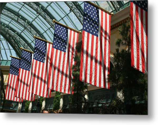 Liberty Metal Print by Amy Holmes