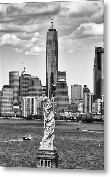 Liberty And Freedom 2 Metal Print