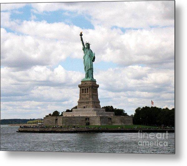 Liberty For All Metal Print by Deborah Selib-Haig DMacq