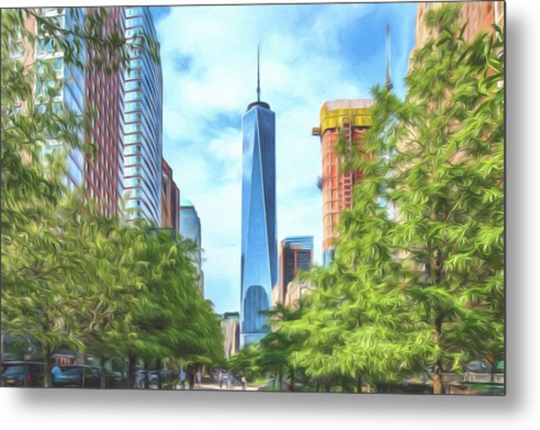 Liberty Tower Metal Print