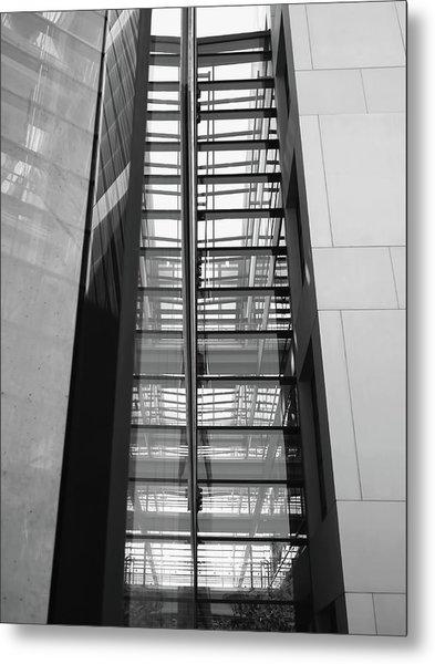 Library Skyway Metal Print