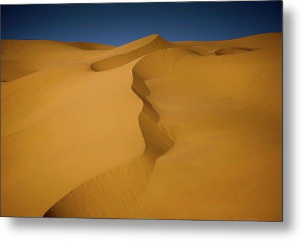 Libya Dunes Metal Print