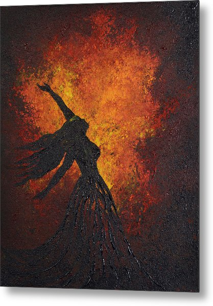 Life Force Metal Print