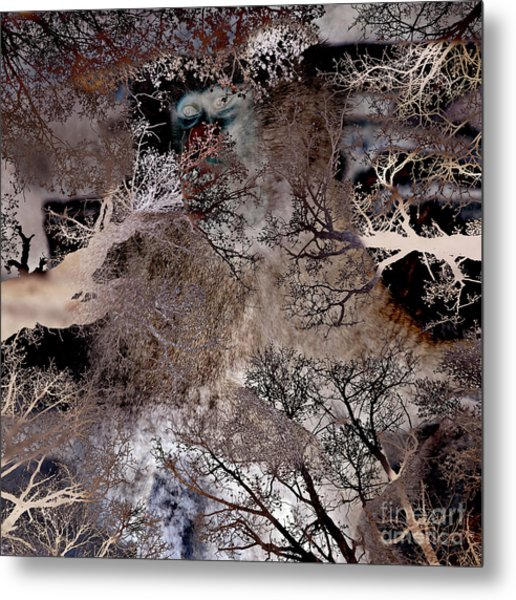 Life In A Bush Of Ghosts Metal Print
