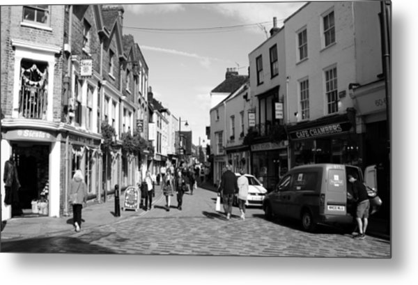 Life In Canterbury Metal Print