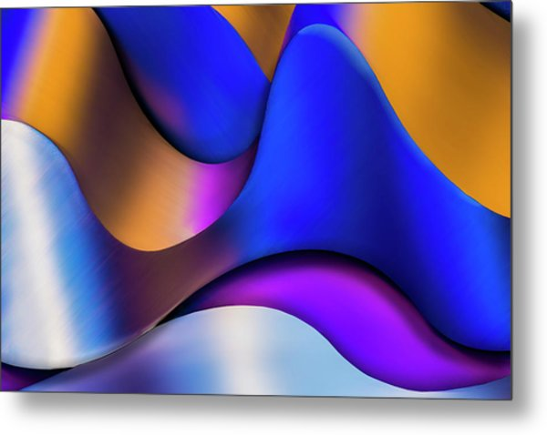 Life In Color Metal Print