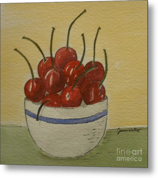 Life Is A Bowl Of.... Metal Print