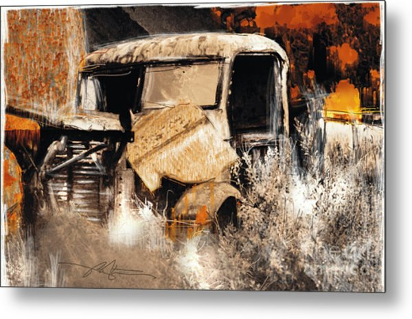 Life Is A Highway Metal Print by Bob Salo