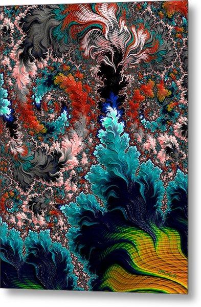 Life Underwater Metal Print
