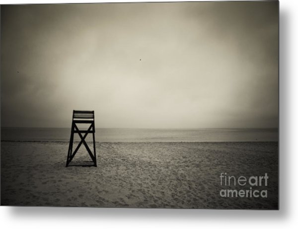 Lifeguard Stand  Metal Print