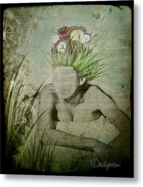 Metal Print featuring the digital art Life's A Beach by Delight Worthyn