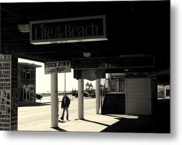 Life's A Beach Metal Print by Lois Lepisto