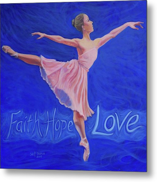Metal Print featuring the painting Life's Dance by Jeanette Jarmon