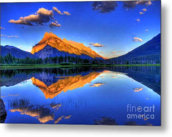 Life's Reflections Metal Print