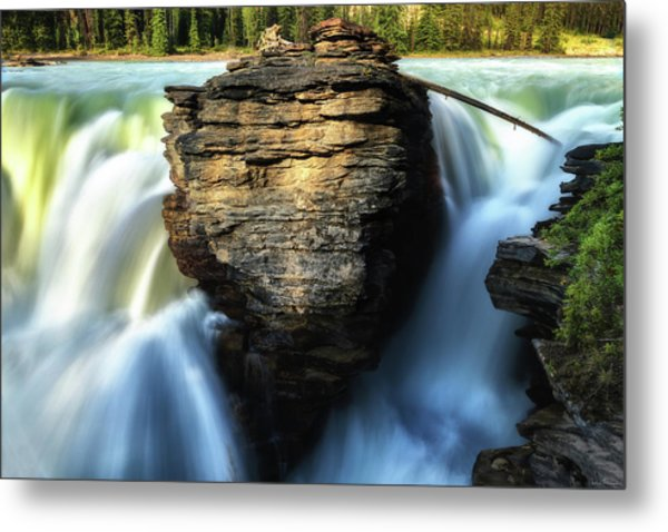 Metal Print featuring the photograph Light And Movement by Rick Furmanek