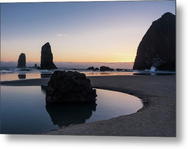 Light And Tide Metal Print