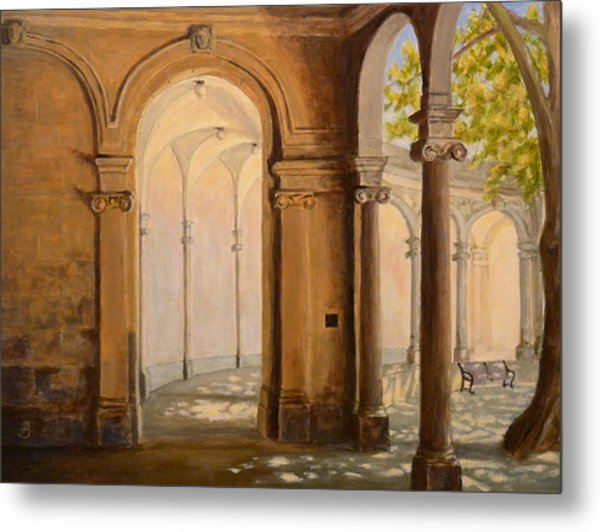 Light At The End Of The Tunnel Monmouth University Metal Print