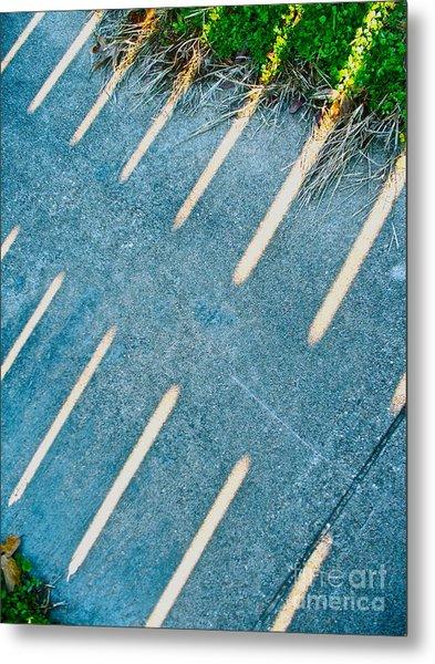 Light Blades Metal Print by Chuck Taylor