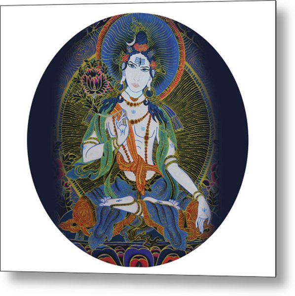 Light Giving Shiva  Metal Print