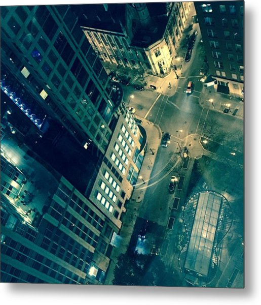 Light In The City 2 Metal Print
