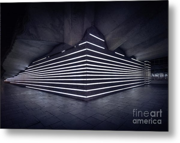 Light Into The Darkness Metal Print