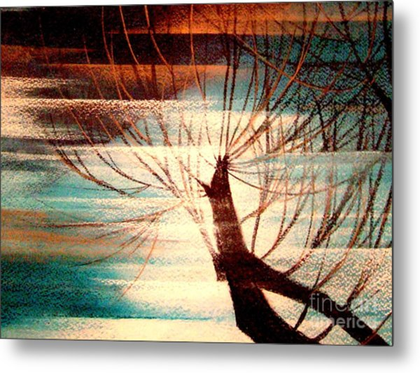 Light Melody Metal Print