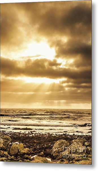 Light Of Dusk Metal Print