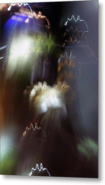 Light Paintings - No 4 - Source Energy Metal Print
