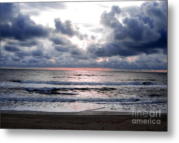 Light Parting The Darkness Metal Print