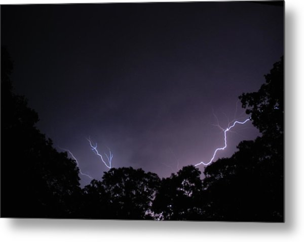 Light The Night 3 Metal Print by Clay Peters Photography