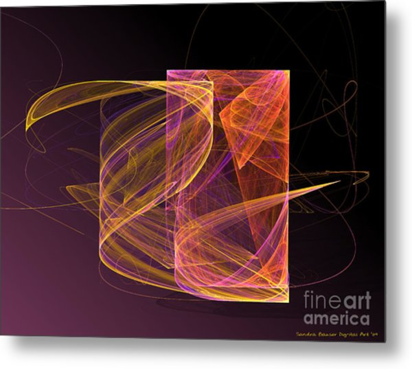Lightbox Metal Print