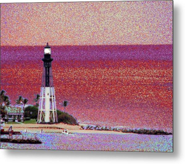 Lighthouse 1014 Metal Print