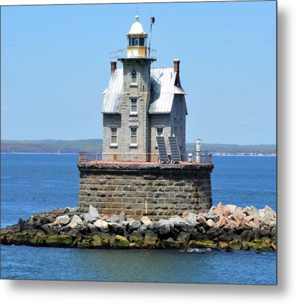 Lighthouse 2-c Metal Print