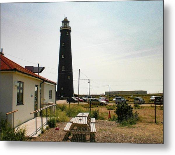 Lighthouse, Dungeness, Kent Metal Print