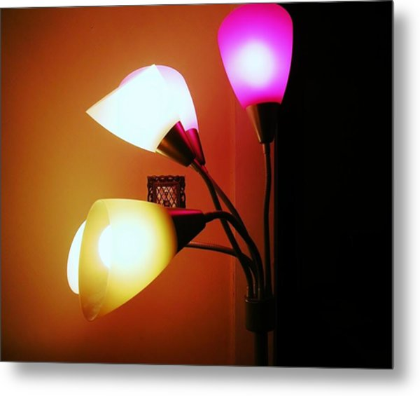 Lighting The Room Metal Print