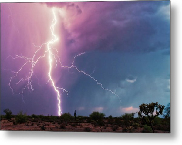 Lightning Dancer Metal Print