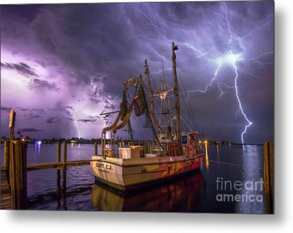 Lightning Over The Horizon Metal Print