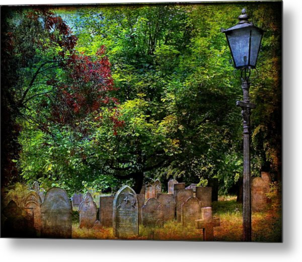 Lights Out Metal Print by Nick Eagles