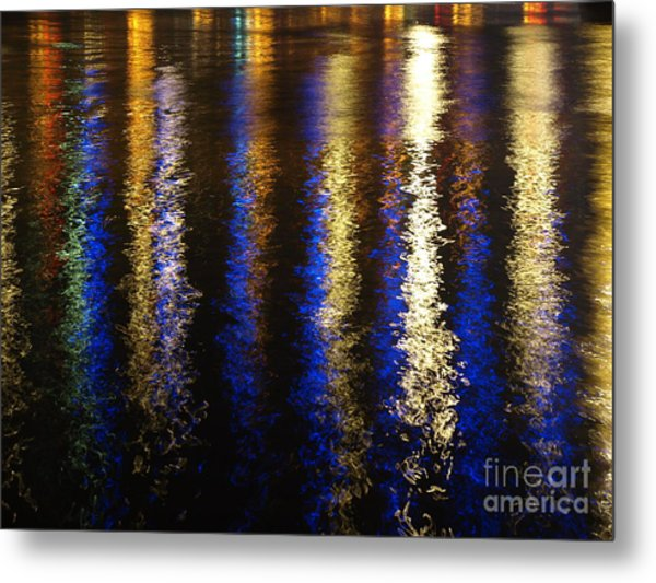 Lightup Pgh Metal Print