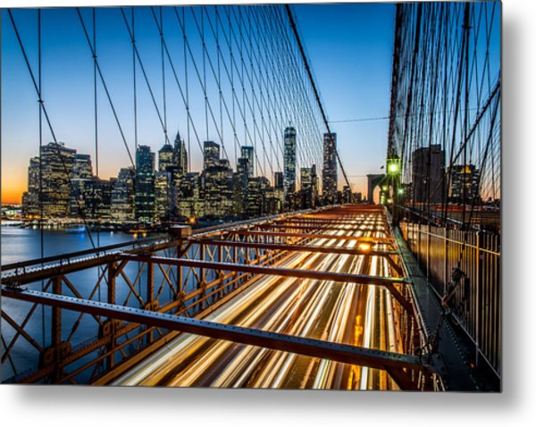 Lightwave Metal Print