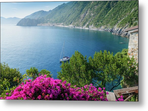 Ligurian Sea, Italy Metal Print