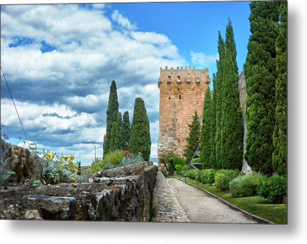 Like A Fortress In The Sky Metal Print