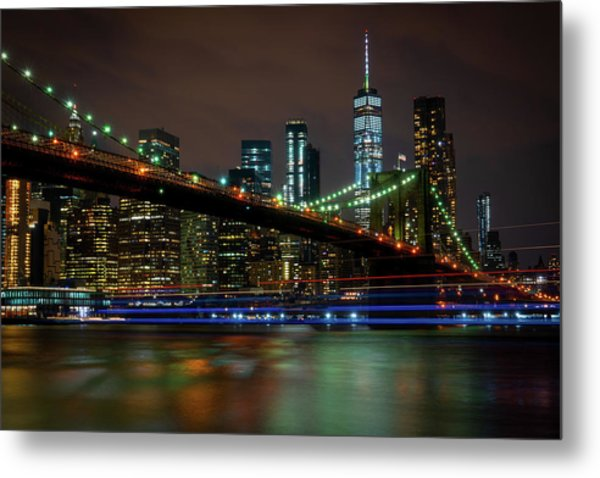 Metal Print featuring the photograph Like Ships In The Night by Chris Lord