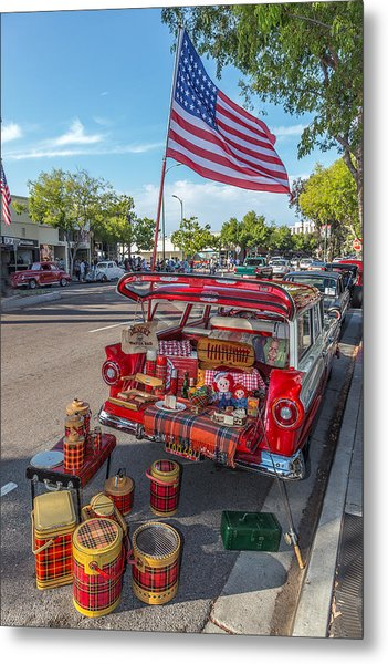 Like The 4th Of July Metal Print by Peter Tellone
