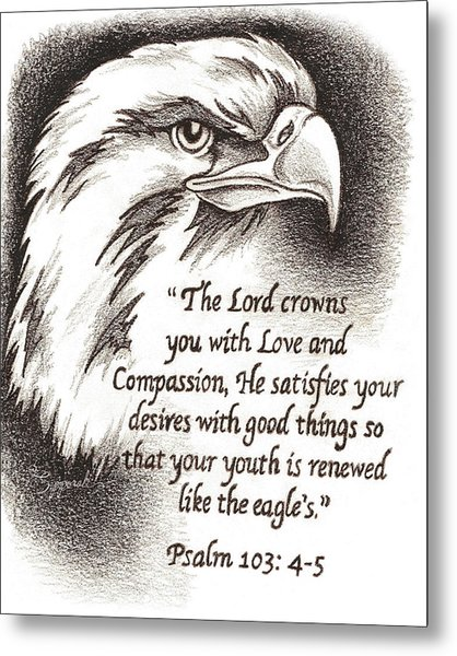 Like The Eagle Metal Print