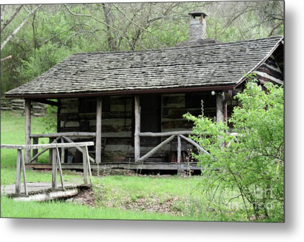 Lil Cabin Home On The Hill  Metal Print
