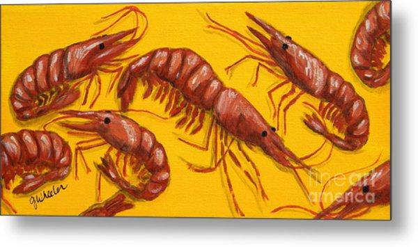 Lil Shrimp Metal Print
